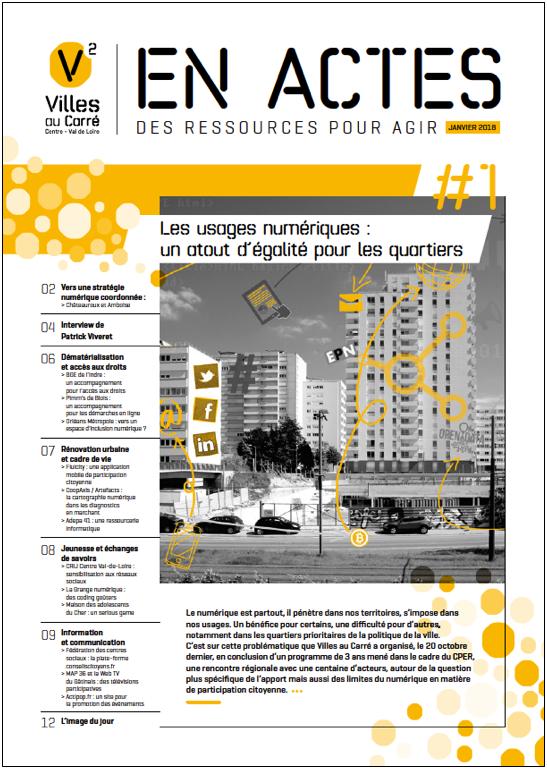 EN ACTES  – Les usages numériques : un atout d'égalité pour les quartiers