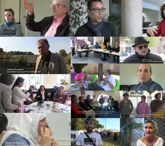 «Les conseils citoyens en question» : une série de trois films