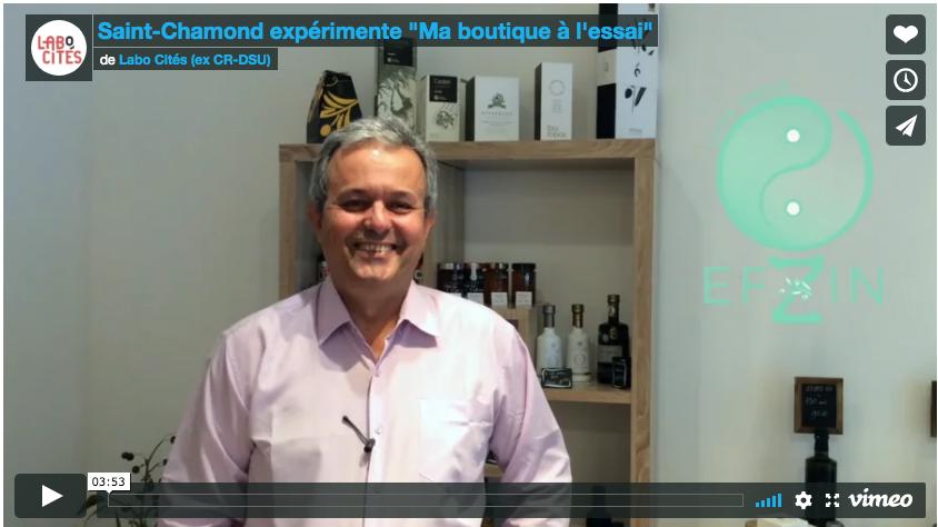 Saint-Chamond expérimente «Ma boutique à l'essai». Une vidéo de la série «L'innovation au service des quartiers»