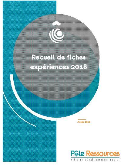 Recueil de fiches expériences, année 2018