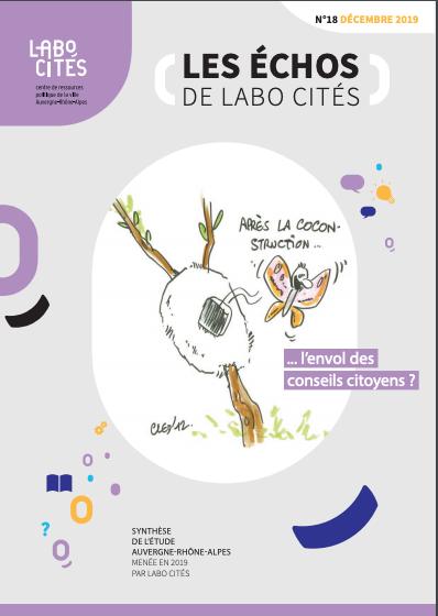 «Après la cocon-struction… l'envol des conseils citoyens ?» Les Échos de Labo Cités #18
