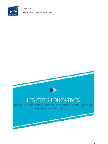 Les Cités éducatives – synthèse du cycle de préfiguration en Hauts-de-France