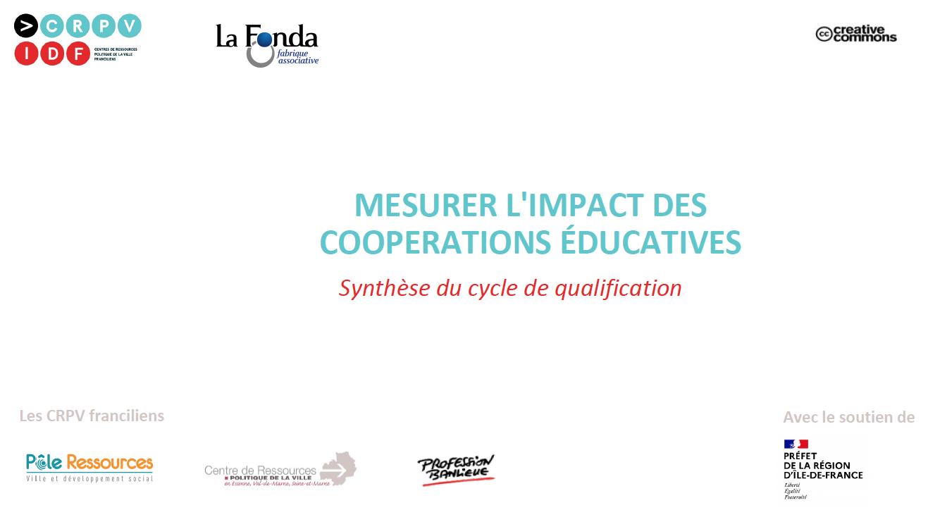 Mesurer l'impact des coopérations éducatives