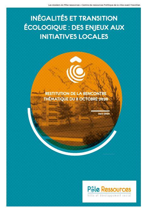 Inégalités et transition écologique : des enjeux aux initiatives locales